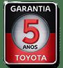 Selo Garantia Toyota 3 anos